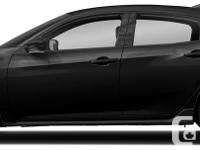 Make Honda Model Civic Year 2018 Colour Black kms 78