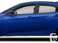 Make Honda Model Civic Year 2018 Colour Blue kms 200