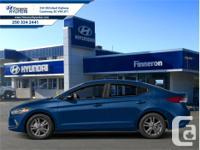 Make Hyundai Model Elantra Year 2018 Colour Marina Blue