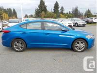 Make Hyundai Model Elantra Year 2018 Colour Blue kms