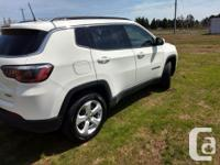 Make Jeep Model Compass Year 2018 Colour White kms