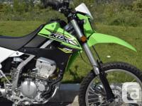 2018 KAWASAKI KLX250 104KM Street legal dual sport Fuel