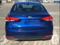 Make Kia Model Forte Year 2018 Colour Blue kms 35946