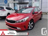 Make Kia Model Forte Year 2018 Colour Red kms 21779