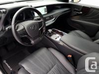 Make Lexus Model LS Year 2018 Colour white kms 5758