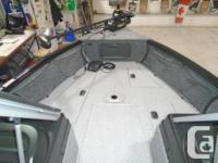The 1675 Impact XS family fishing and recreational boat