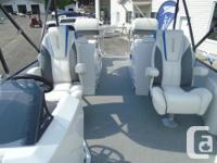 Built to perform, the X-Plode is the pontoon that