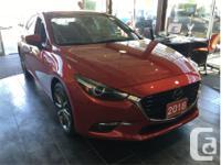 Make Mazda Model MAZDA3 Year 2018 Colour Red kms 7979