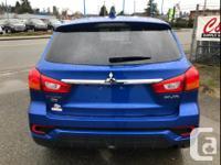 Make Mitsubishi Model RVR Year 2018 Colour Blue kms