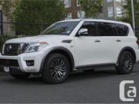 Make Nissan Model Armada Year 2018 Colour White kms 70