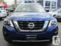 Make Nissan Model Pathfinder Year 2018 Colour Blue kms