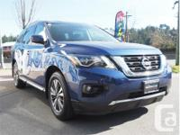 Make Nissan Model Pathfinder Year 2018 Colour Blue kms
