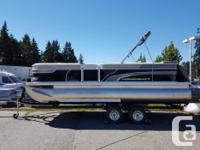 Equipped with Sport Configuration (3 Pontoon), 150HP