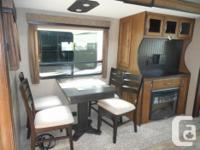 This new Reflection Super-Lite Fifth Wheel RV is light
