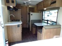 Clearance priced. Small bunk travel trailer with