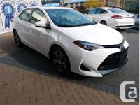 Make Toyota Model Corolla Year 2018 Colour White kms