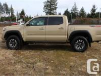 Used, Make Toyota Model Tacoma Year 2018 Colour Quicksand for sale  British Columbia