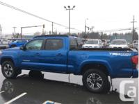 Make Toyota Model Tacoma Year 2018 Colour Blue kms