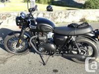 Make Triumph Year 2018 kms 190 2018 Triumph Bonneville