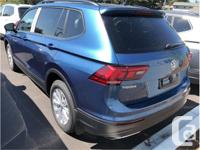 Make Volkswagen Model Tiguan Year 2018 Colour Blue kms