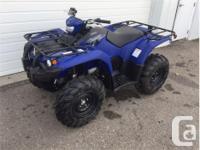 Price: $8,799 Stock Number: Y692 2018 Yamaha Kodiak 450, used for sale  Saskatchewan