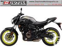 2018 Yamaha MT-07 ABS Sport Motorcycle * Pre-order Now!