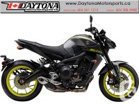 2018 Yamaha MT-09 ABS Sport Motorcycle * Pre-order Now!