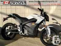 2018 Zero SR ZF14.4 Electric Sport Motorcycle $21595