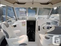 Pre-rigged with Twin Mercury 150 HP PRO XS Engines,