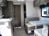 Light weight, good quality, family bunk travel trailer.