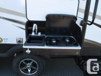Great size bunk trailer for island campsites. Double