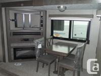 This amazing 1 floor level travel trailer is awesome
