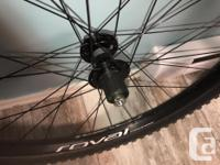 Brand new 2019 Roval Traverse 29 alloy disc wheelset,