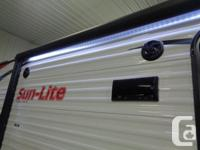2019 SUN-LITE 21QB BY SUNSET PARK RV FEATURING REAR
