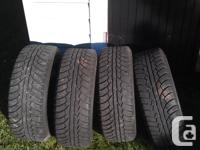 I have 4 205 55 16 winter tires and steel rims for