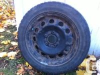 Establish of 4 winter months rims as well as utilized