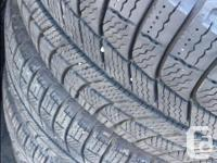 205/55R16 Michelin X-Ice with Mountain/Snowflake