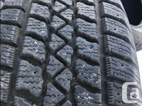 """Four - 205/60R16"""" Arctic Claw Winter Tires for sale"""