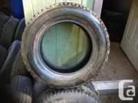 205 65 15 Bridgestone snow tires  a pair of tires
