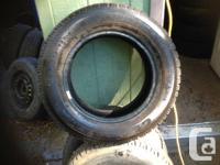 205/65/15 Goodyear  Snow Tires   like new , 80/90%