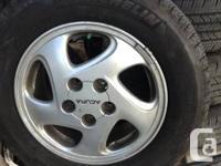 205-65-15.   Michelin tires Honda wheel Super super