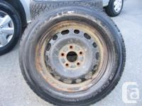 205 65R15 Toyo Observes G02 Plus Winter Tires. Used