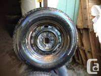 205/70/14  Snow Tires on or off mpv rims  a pair of