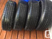 Very little wear very nice condition. 205/70R15