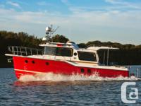THE NEWLY DESIGNED 29 feet RANGER TUG STRAYS FROM THE