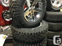 """20""""DODGE RAM 1500 WHEELS IN ALMOST NEW CONDITION!! WITH"""