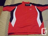 This jersey is a large Louis Garneau. Is brand new.I