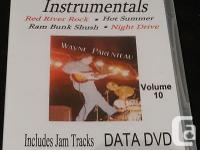 Learn Guitar Instrumentals - Vol.10 DATA DVD -Guitar