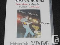 Learn Guitar Instrumentals - Vol.4 DATA DVD -Guitar