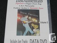 Learn Guitar Instrumentals - Vol.5 DATA DVD -Guitar